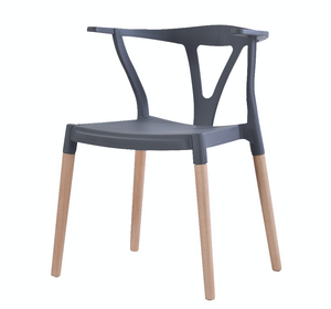 Wishbone Dining Chairs Grey