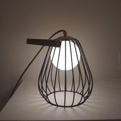 Handbag Table Lamp Black - Fervor + Hue