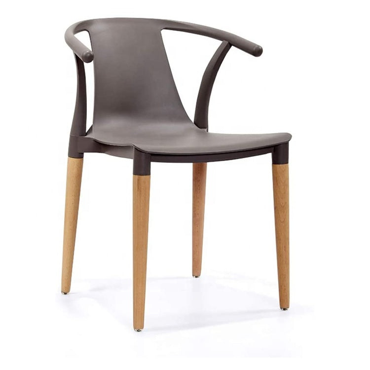Daisy T Curve Chair Grey - Pre order now available from 7th Feb