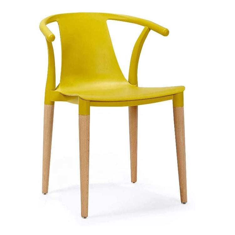 Daisy T Curve Chair Mustard Yellow - Pre order now available from 7th Feb