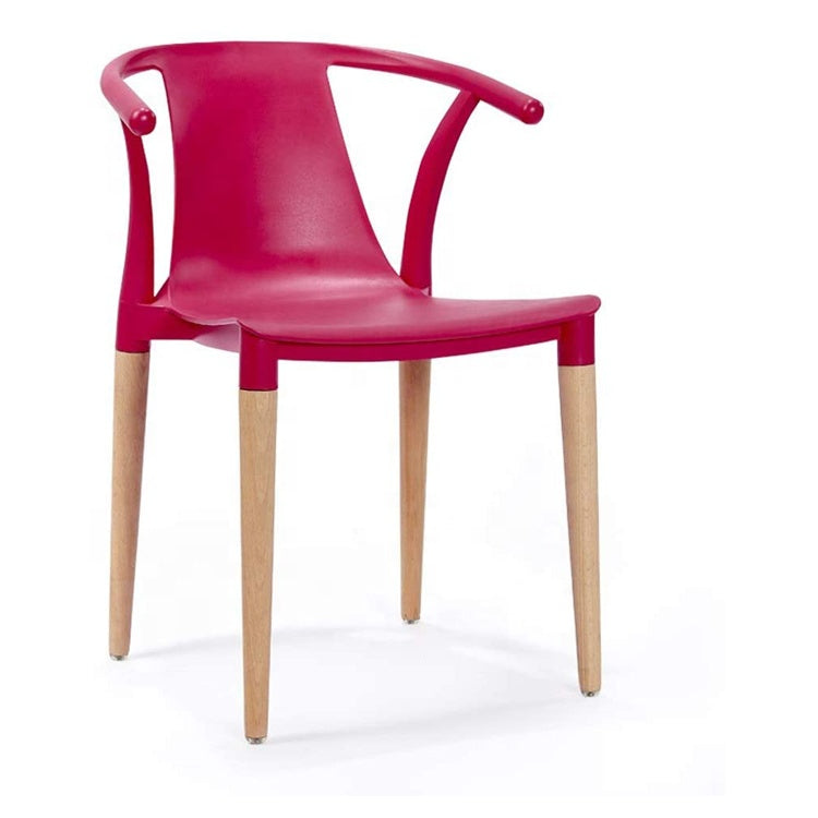Daisy T Curve Chair Raspberry Red - Pre order now available from 7th Feb