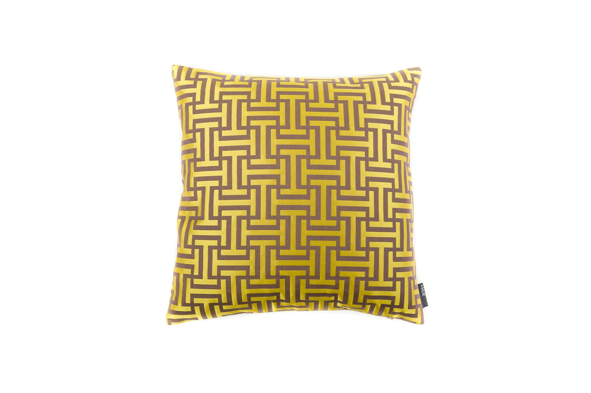 Cushion Abstract Chic Goid - Fervor + Hue