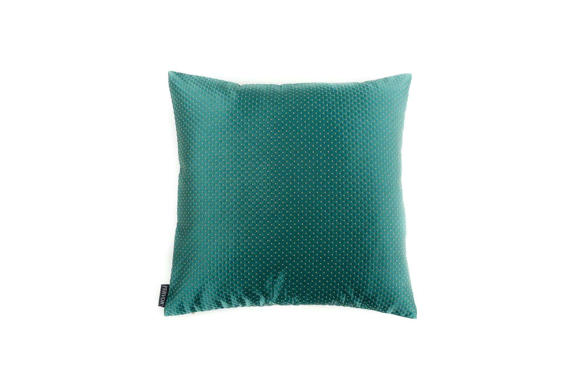 Cushion Gigi Dotty Rich Duck Egg - Fervor + Hue