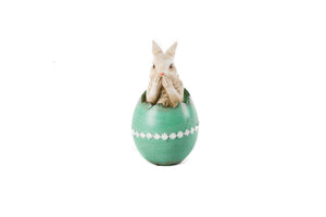 Fairytale Bunny in Easter Egg- Speak no Evil - Fervor + Hue