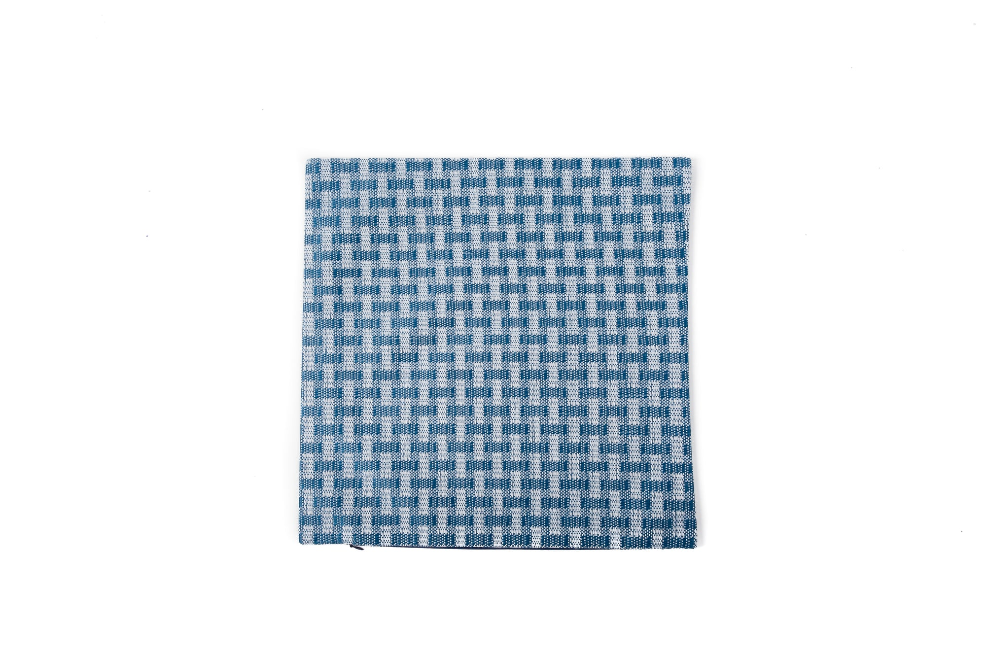 Funky Weave Celestial Blue Check - Cover Only - Fervor + Hue