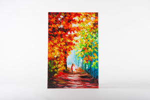 Autumn Light, early morning, paintings, canvas artwork, autumn colours