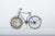 Clock Vintage Elegance Push Bike Blue - Fervor + Hue