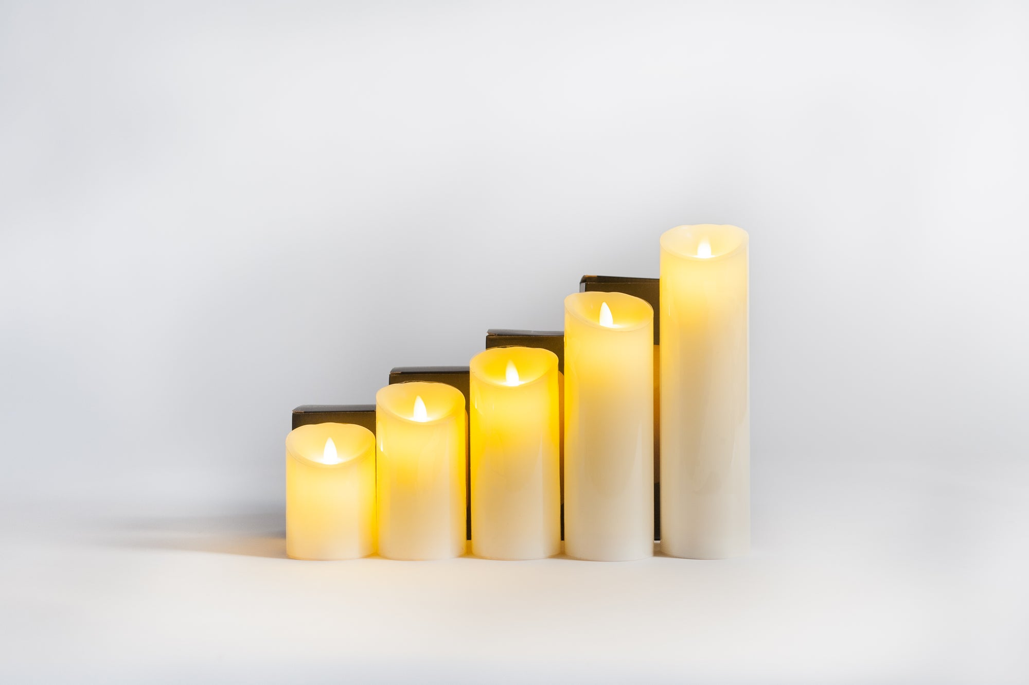 Battery Operated Candles With Timer - Fervor + Hue