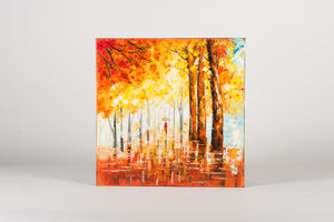 Sun Stream Hand Painted Wall Art on Canvas