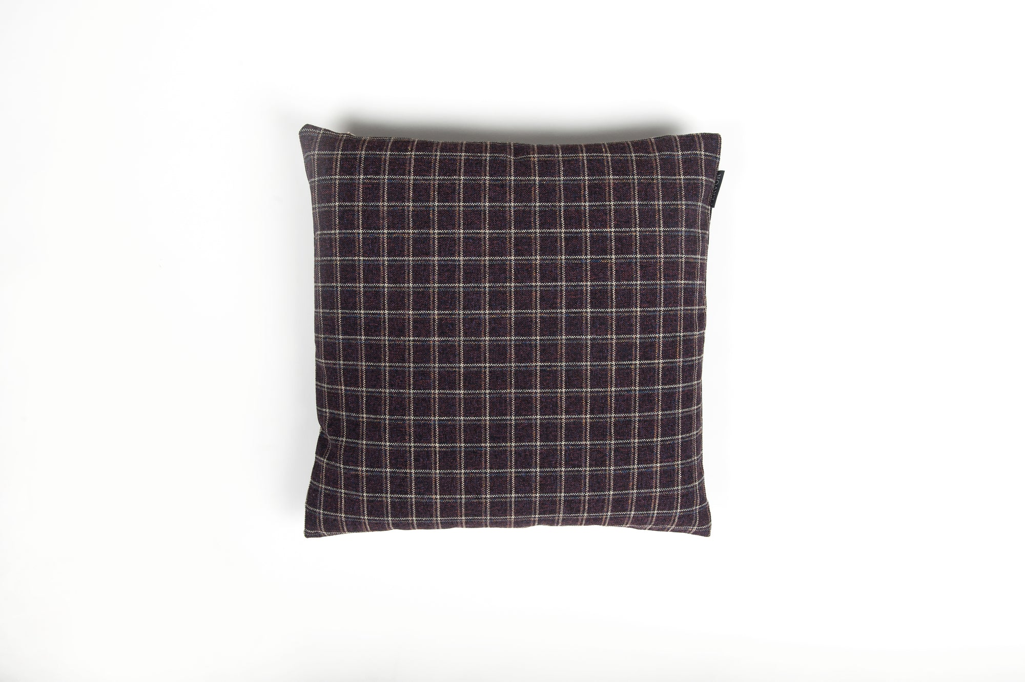 Tweedy Weave Plum Multi Cushion - Fervor + Hue