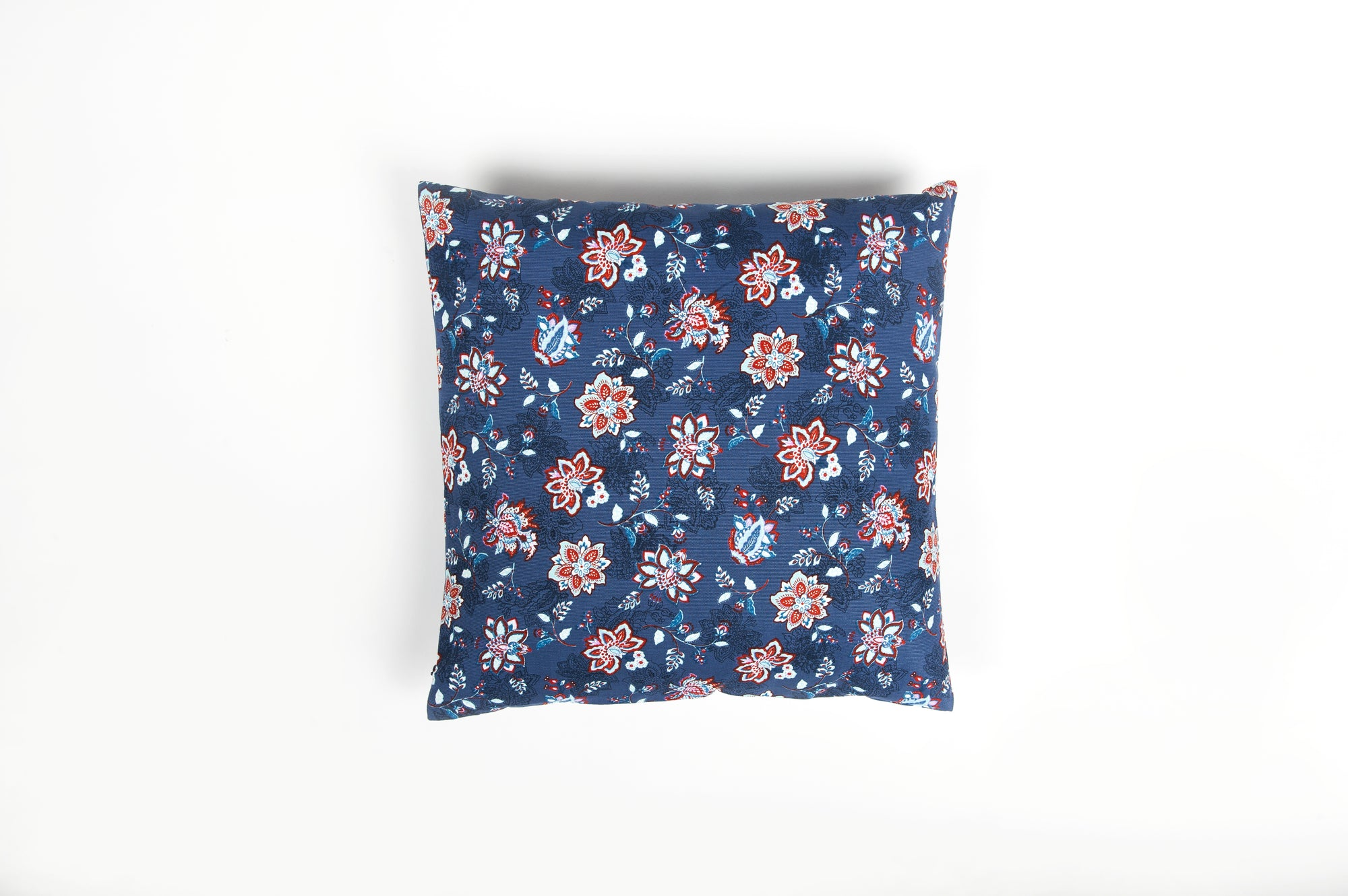 Vintage Denim Posy Cushion - Cover Only - Fervor + Hue