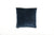 Velvet French Navy Piped Cushion - Fervor + Hue