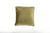 Velvet Sage Green Piped Cushion - Fervor + Hue
