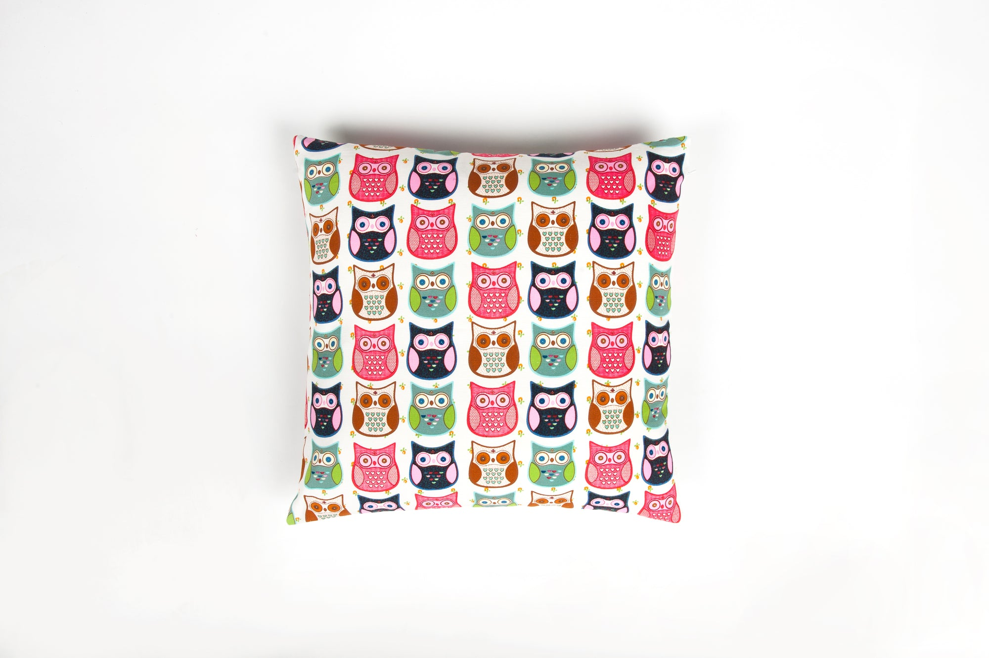 Funky Little Owls Cushion - Cover Only - Fervor + Hue