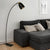 Watchman Floor Lamp Black PT - Fervor + Hue