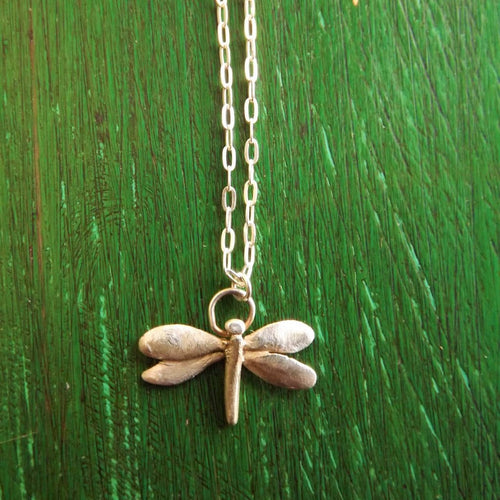 Dragonfly Necklace (PMC)