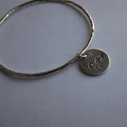 'Yours' Bangle