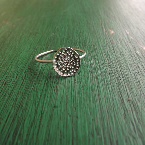 'Dotty' Silver Ring