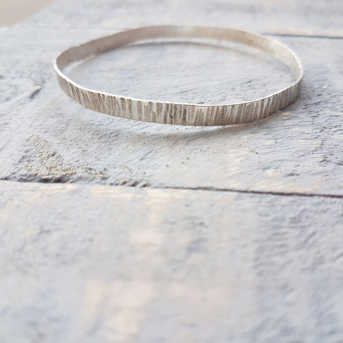 Textured Wide Bangle