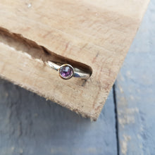 Rose Cut Gem Rings