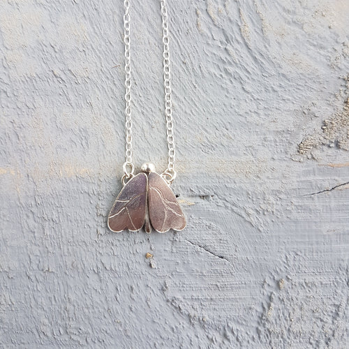 Winter Moth Necklace