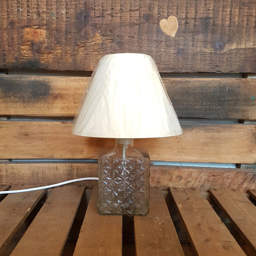 Glass Decanter Table Lamp
