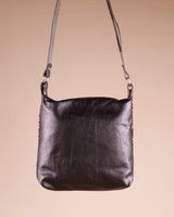 Dogo Black Leather Shoulder Bag