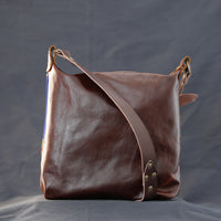 Akan Leather Crossbody Bag