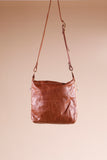 Mombasa Brown Leather Shoulder Bag