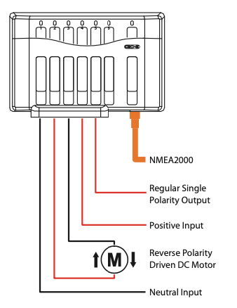 CZone Motor Output Interface