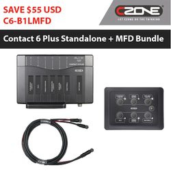 CZone Contact 6 Plus Bundles | Standalone Systems 6 Way Keypads With MFD Display