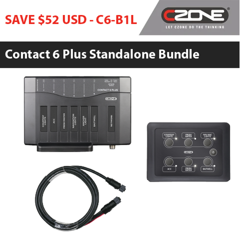 CZone - Contact 6 Plus Bundles - C6-B1L