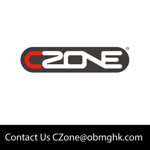 CZone - ACOI DIN Mount PCA Kit Black Tail USA - 80-911-0096-00