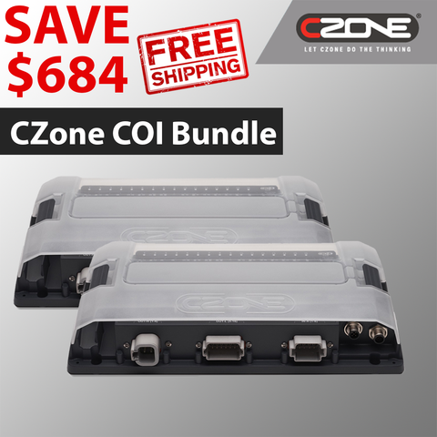 80-911-0119-00 CZone Combination output interface (COI) with Connectors Bundle from CZoneonline.com | Priced at $3080.70 USD with free shipping included!