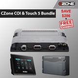 Buy CZone Marine bundle. Pack includes 80-911-0124-00 | 80-911-0134-00 | 80-911-0119-00. COI, digital breakout switch and Touch 5 included