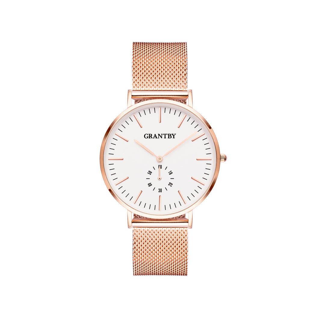 Rose Gold Character 36 Milanese