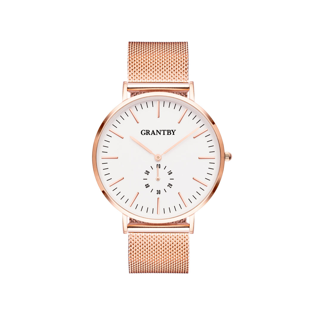 Rose Gold Character 40 Milanese