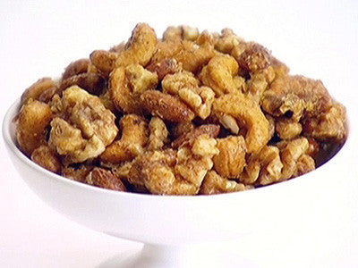 Sweet & Savory Java Spiced Nuts