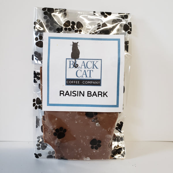 Black Cat Coffee Company RAISIN BARK