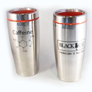 Black Cat Bistro Travel Mug