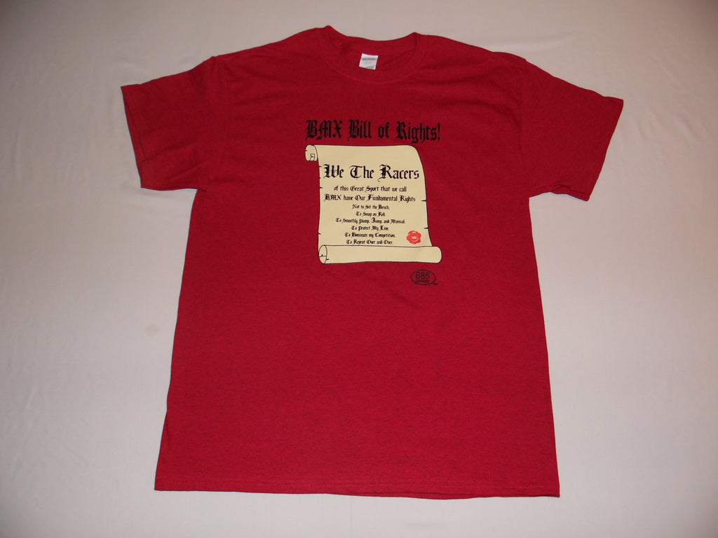 BMX BILL OF RIGHTS Short Sleeve Shirt