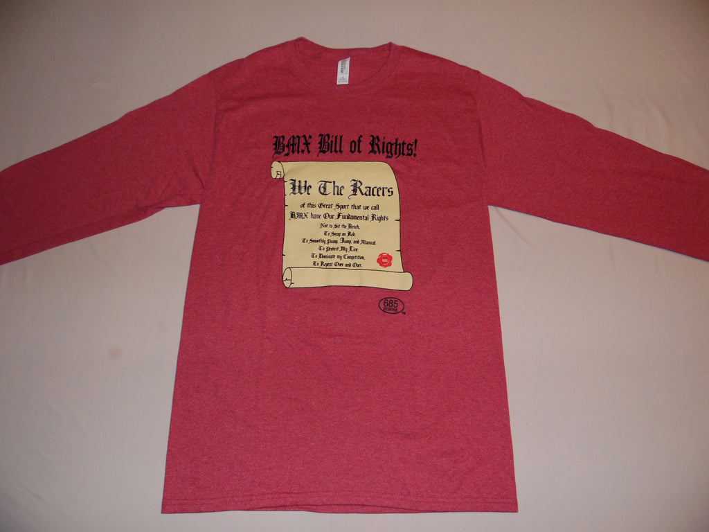 BMX BILL OF RIGHTS Long Sleeve Shirt