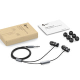 AUKEY EP-C2 Wired In-Ear Headphone with Metal Look Housing