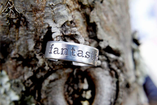 Fantastic Hand Stamped Ring
