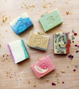 Small Batch Soap Release Set of All 6 Scents - Choose Mini or Full Size