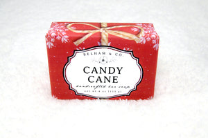 CANDY CANE Handcrafted Soap Bar (Pre-Order)