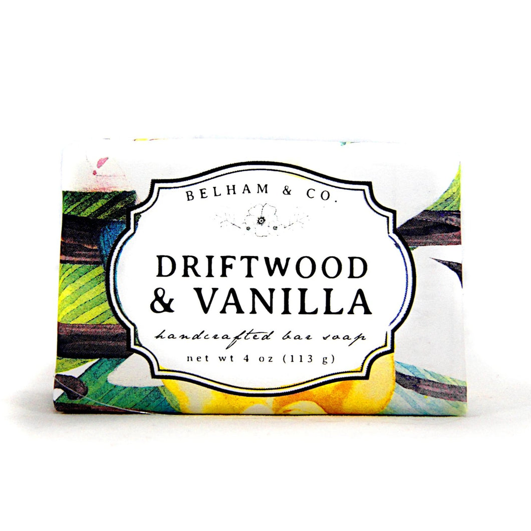 DRIFTWOOD & VANILLA Handcrafted Bar Soap