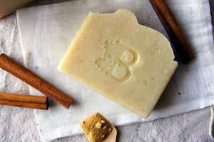 GOLDEN MILK -- Handcrafted Bar Soap