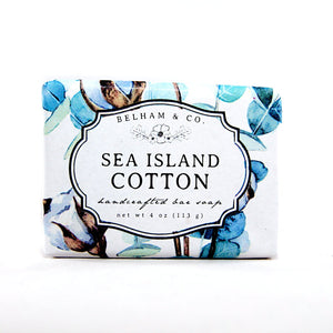 SEA ISLAND COTTON Handcrafted Bar Soap
