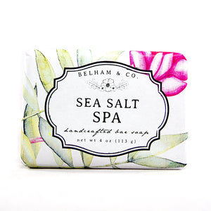 SEA SALT SPA Handcrafted Bar Soap
